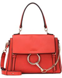 Chloé - Small Faye Day Leather Shoulder Bag - Lyst