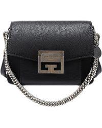 Givenchy - Mini Gv3 Leather Shoulder Bag - Lyst
