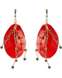 Marni - Horn Earrings - Lyst