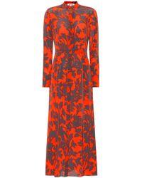 Diane von Furstenberg - Silk Shirt Dress - Lyst