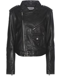 Calvin Klein Jeans - Exclusive To Mytheresa. Com – Leather Biker Jacket - Lyst