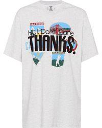 Vetements - T-shirt en coton imprimé - Lyst