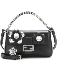 27242995a41d Fendi - Micro  baguette  Crossbody Bag - Lyst