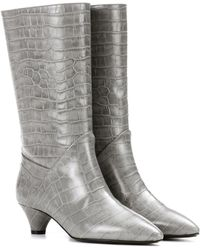 Marni | Embossed Leather Boots | Lyst