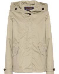 Woolrich - Hooded Cotton Jacket - Lyst