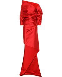 Balenciaga - Asymmetrical Gown - Lyst