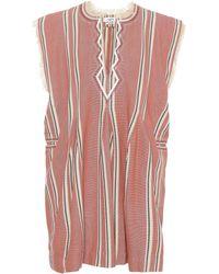 Étoile Isabel Marant - Denize Cotton Tunic Dress - Lyst