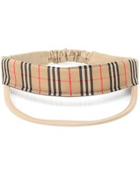 Burberry - Check & Clear Visor Sun Hat - Lyst