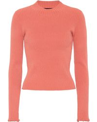 Proenza Schouler - Ribbed Knit Sweater - Lyst