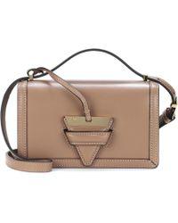 Loewe - Barcelona Small Leather Shoulder Bag - Lyst