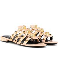 Balenciaga - Arena Leather Sandals - Lyst