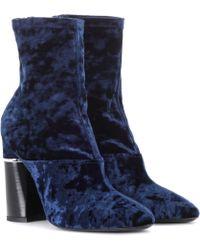 3.1 Phillip Lim - Kyoto Velvet Boot - Lyst