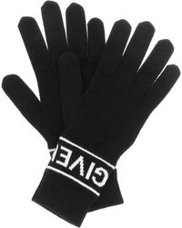 Givenchy - Wool Gloves - Lyst