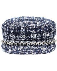Maison Michel - New Abby Tweed Hat - Lyst