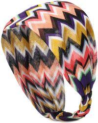 Missoni - Knitted Headband - Lyst