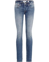 Comfortable Cheap Price Stack low-rise skinny jeans Re/Done Cheap Sale New Styles Order Online cV07So