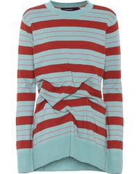 Sies Marjan - Coralie Striped Cotton Sweater - Lyst
