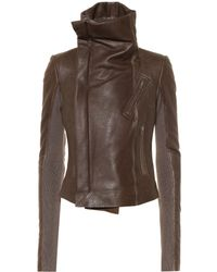 Rick Owens - Forever Classic Leather Biker Jacket - Lyst