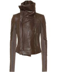 Rick Owens - Chaqueta biker Forever Classic - Lyst