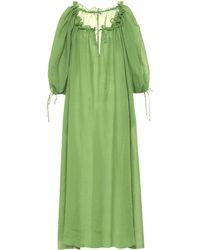 d651588ed6 Three Graces London - Exclusive To Mytheresa – Almost A Honey Moon Ramie  Dress - Lyst