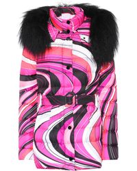 Emilio Pucci - Printed Down-filled Coat - Lyst