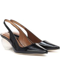 Rejina Pyo - Margot Patent Leather Slingback Pumps - Lyst