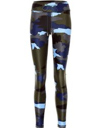 6845288143 The Upside Abstract Camo Yoga Pants in Blue - Lyst