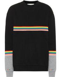 Être Cécile - Sweat-shirt en coton Rib Colour Block - Lyst