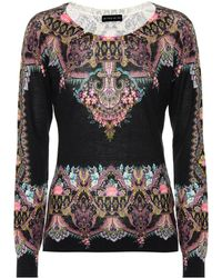 Etro - Silk And Cashmere Top - Lyst