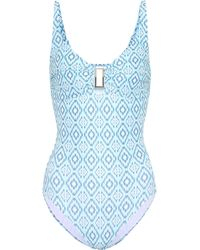 Melissa Odabash - Tuscany Printed Swimsuit - Lyst