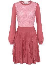 Valentino - Wool Dress - Lyst