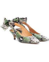 Wilma leather sandals Ganni 7CgZJNwg6