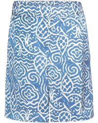 mytheresa.com exclusive Hello printed silk shorts Acne Studios Cheap Sale Huge Surprise Cheap Sale Visit jdtYAaLp5t