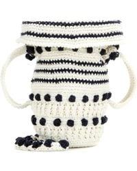 Rosie Assoulin - Small Crochet Jug Shoulder Bag - Lyst