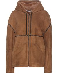 Inès & Maréchal - Adour Shearling-Lined Suede Jacket - Lyst