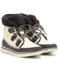 Sorel - Cozy™ Carnival Fleece-Lined Ankle Boots - Lyst