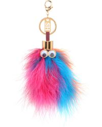 Sophie Hulme - Leonard Feather Key Ring - Lyst