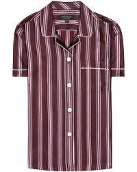 Burberry - Pyjama Shirt - Lyst