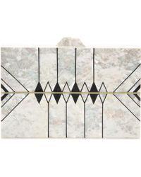 Nathalie Trad - Zero Ii Mother-of-pearl Clutch - Lyst