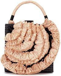 Sanayi 313 - Anetta Raffia Handbag - Lyst