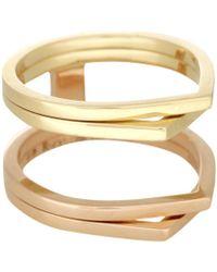 Repossi - Antifer 18kt Gold Ring - Lyst