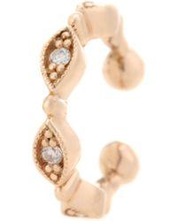 Stone Paris - Yasmine 18kt Rose Gold And Diamond Ear Cuff - Lyst