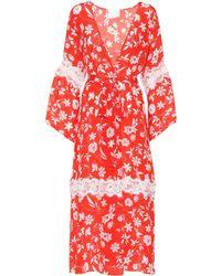 Athena Procopiou - Farah Silk Kimono - Lyst
