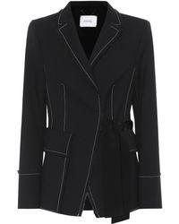 Dorothee Schumacher - Tailored Structure Twill Jacket - Lyst