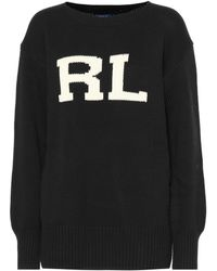 Polo Ralph Lauren - Logo Embroidered Sweater - Lyst