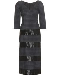 Marc Jacobs - Embellished wool dress - Lyst