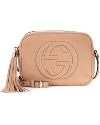 Gucci - Soho Disco Leather Shoulder Bag - Lyst