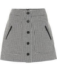 Veronica Beard - Monroe Cotton-blend Miniskirt - Lyst