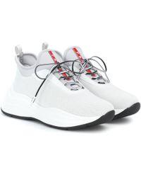 Prada Sneakers mit Mesh
