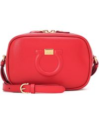 Ferragamo - City Goncho Leather Shoulder Bag - Lyst